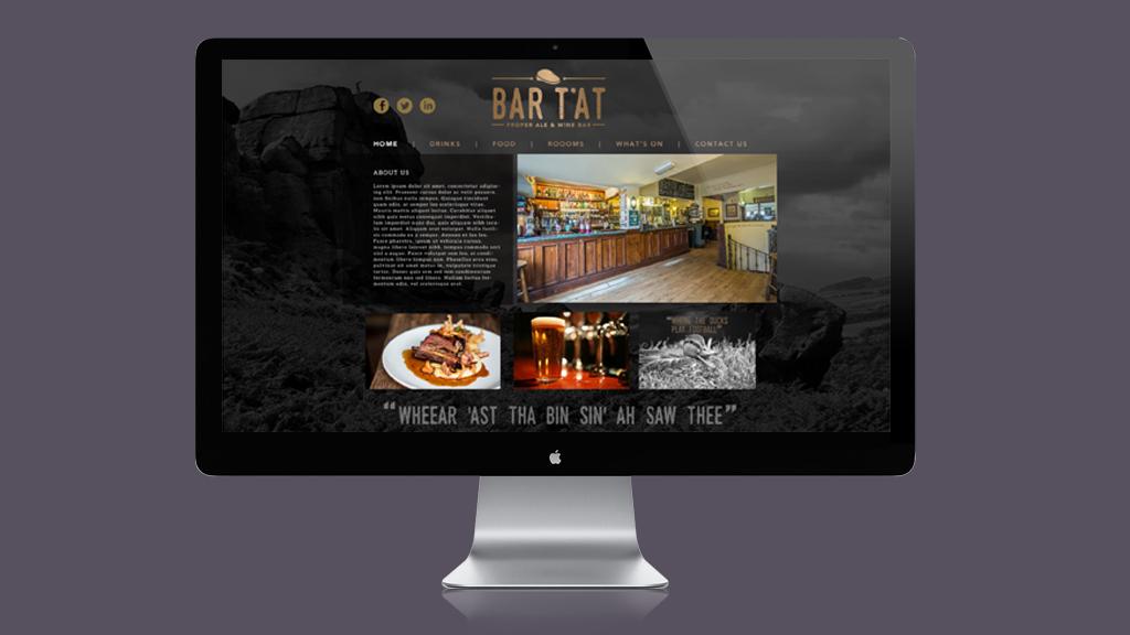 Bar T'at website design & build