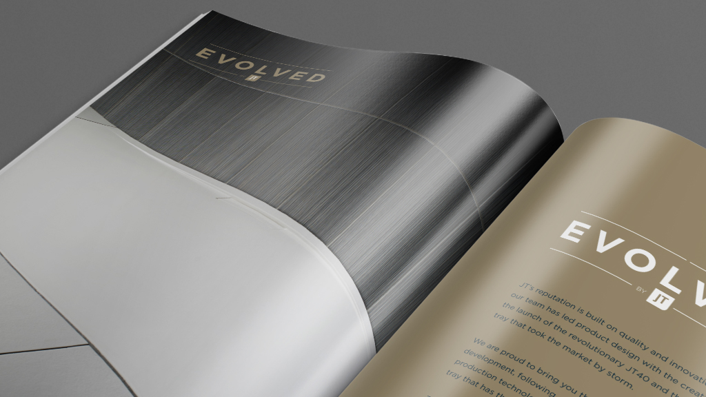 Evolved brochure design & print