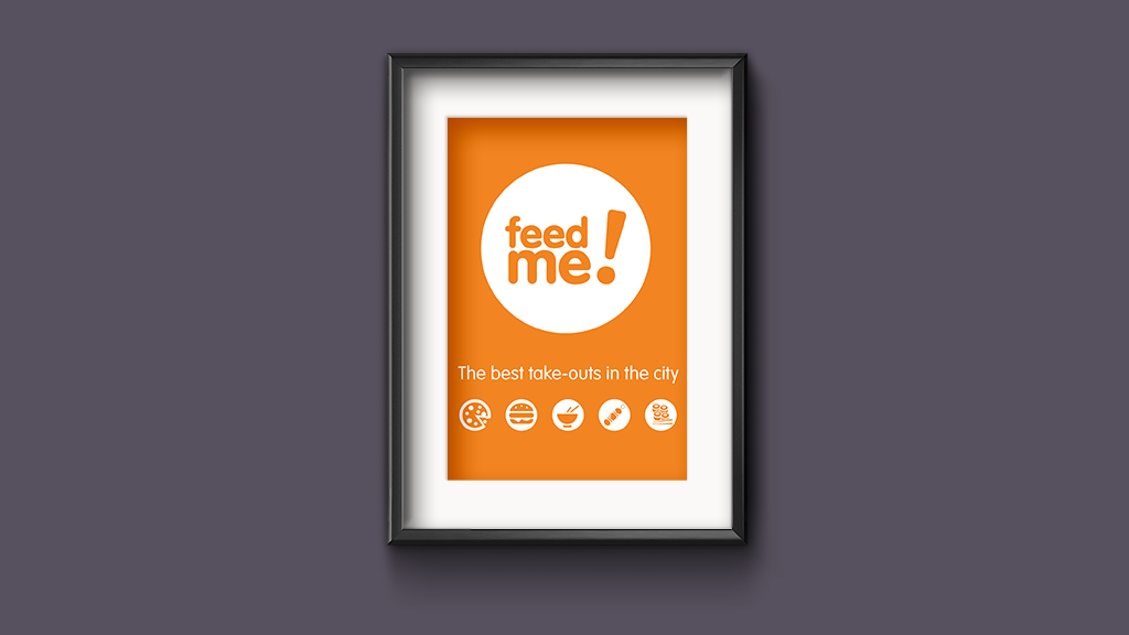 Feed Me Poster design & print